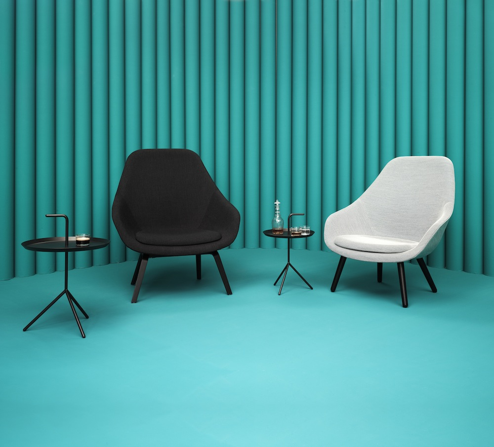 about a lounge chair von hee welling f r hay elusive magazine. Black Bedroom Furniture Sets. Home Design Ideas