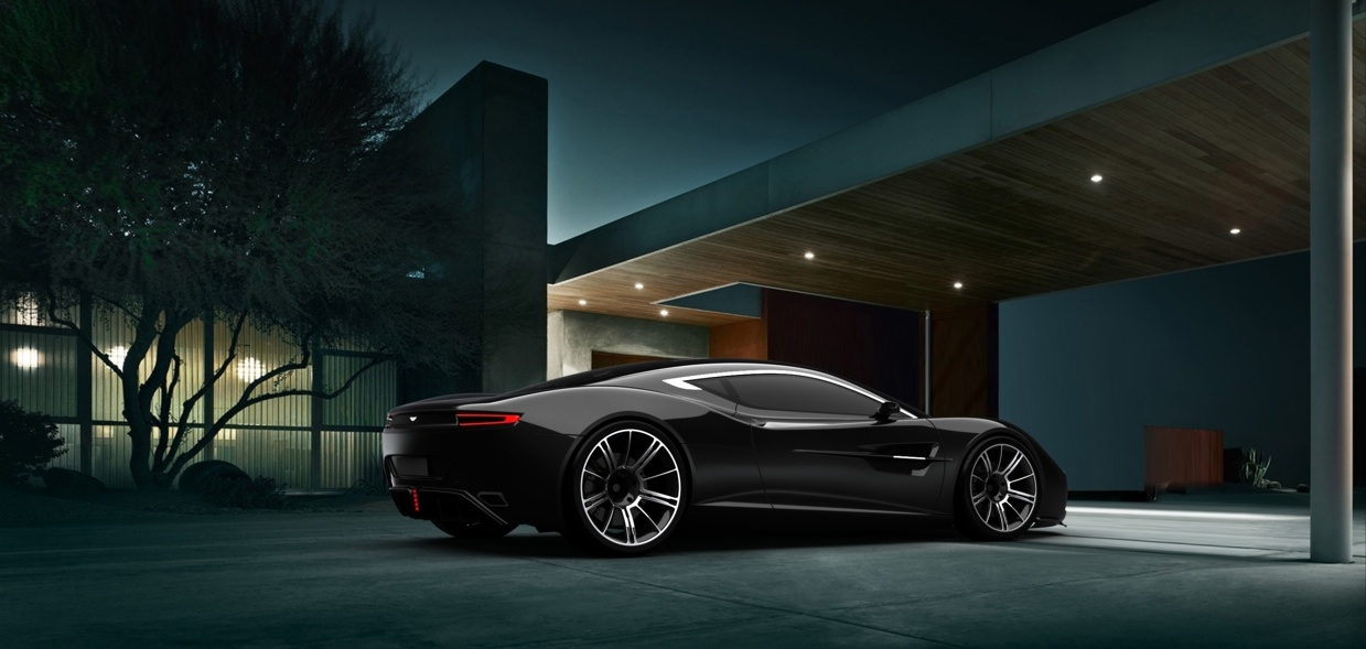 Aston Martin DBC by Samir Sadikhov