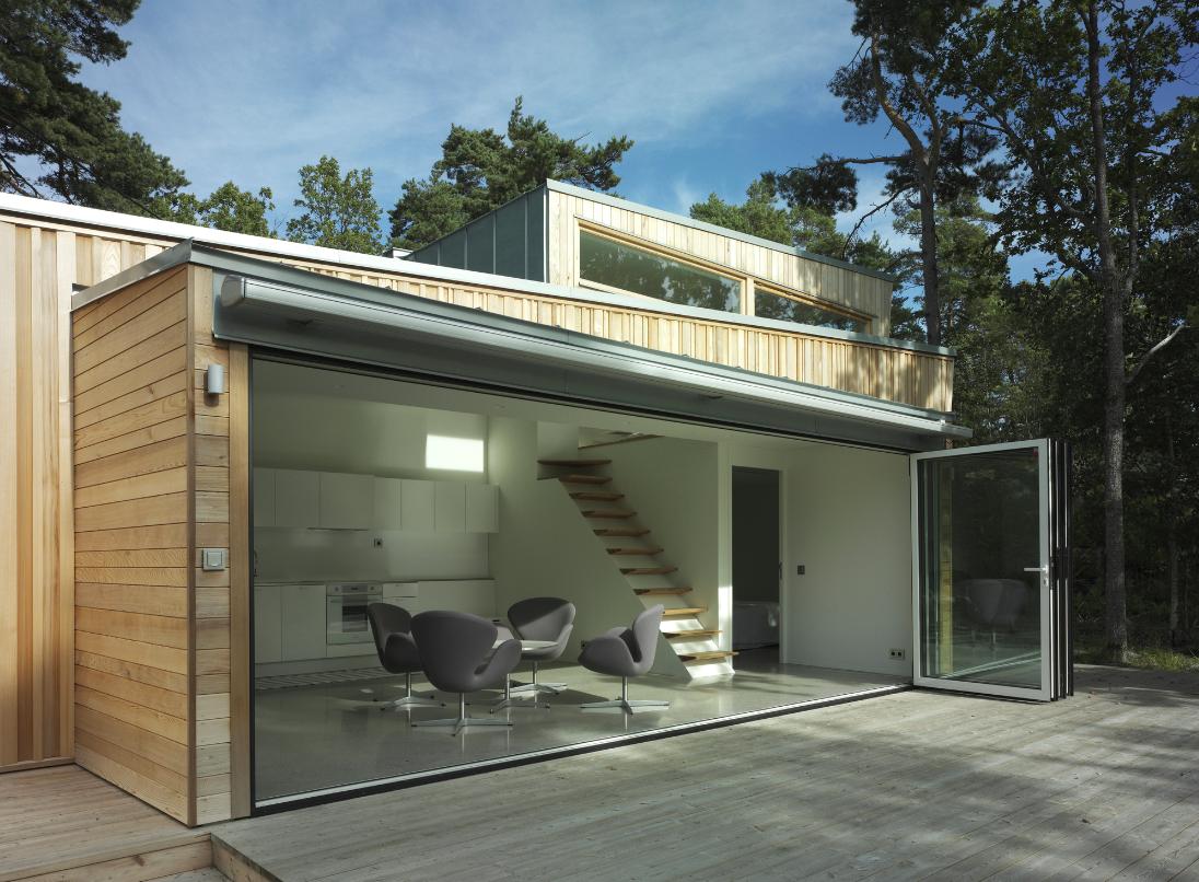 Wood House : Schlyter + Gezelius Arkitektkontor