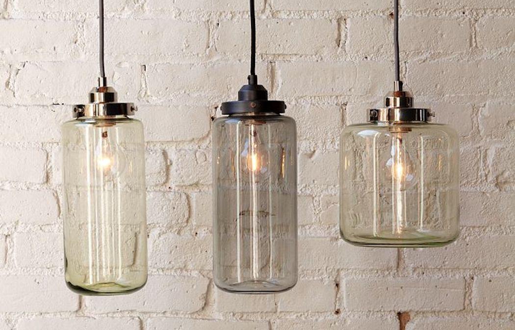 Glass jar pendant lights elusive magazine glass jar pendant lights mozeypictures Gallery