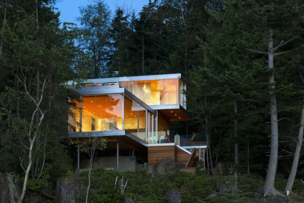 The Gambier Island House by Mcfarlane Green Biggar Architecture + Design