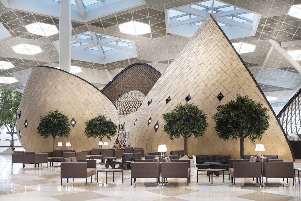 Heydar Aliyev International Airport Terminal by Autoban