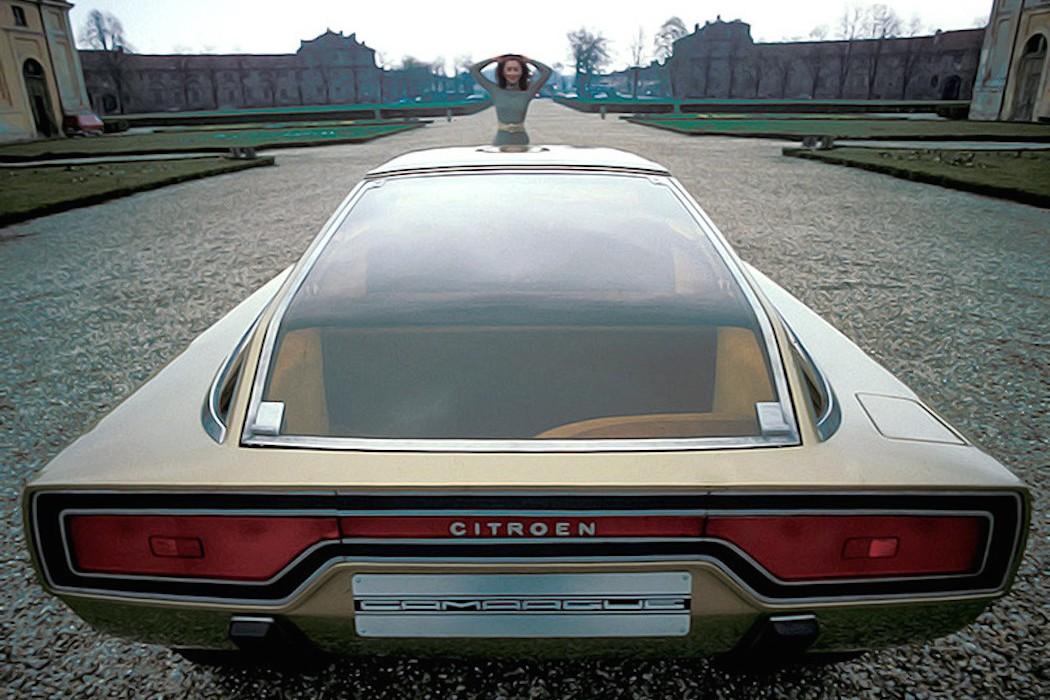 Citro 235 N Gs Camargue Concept 1972 Elusive Magazine