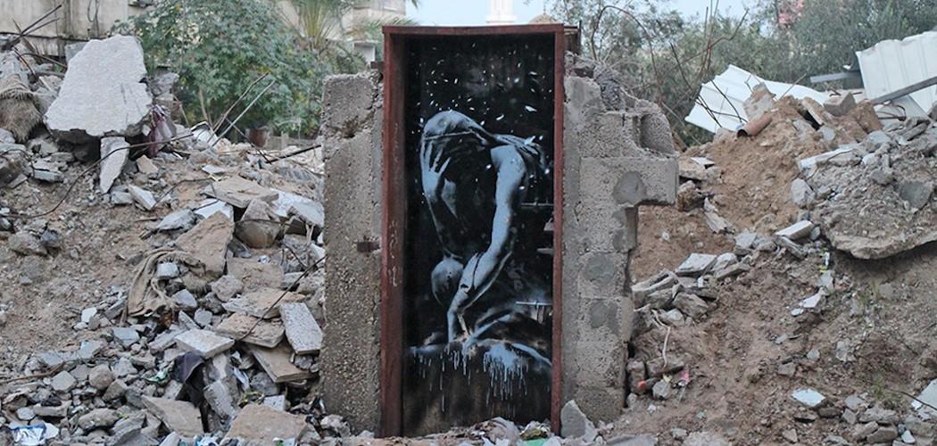 Banksy goes to Gaza (1)