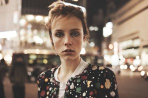 Edie Campbell by Josh Olins