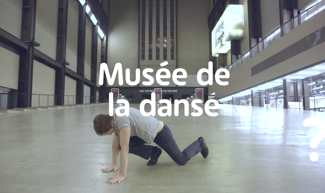 Musée de la danse at Tate Modern London