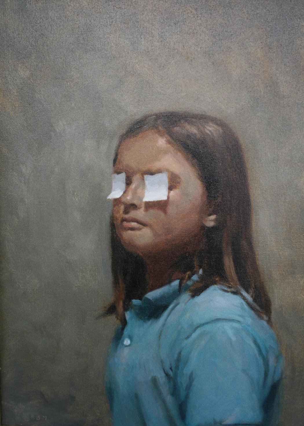 Rafel Bestard_Niña con ojos cubiertos