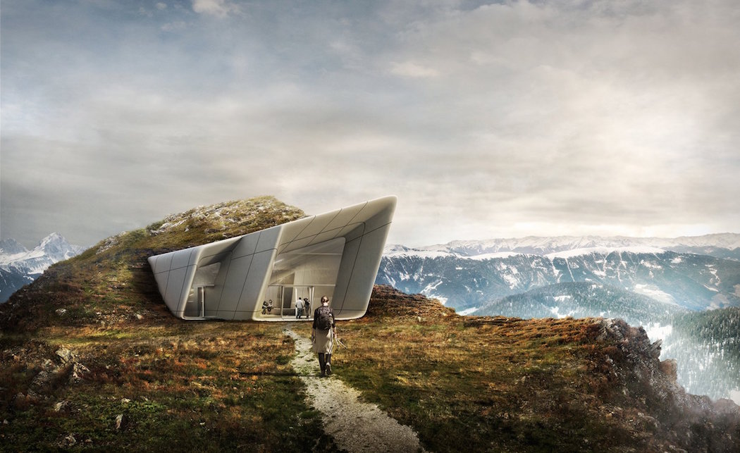Messner Mountain Museum Corones by Zaha Hadid Architects 2