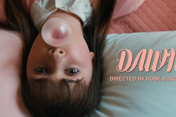 Short film 'Dawn' by Rose McGowan