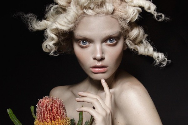The Flower- Marthe Wiggers By Thom Kerr For Black Magazine #23 5 (1)