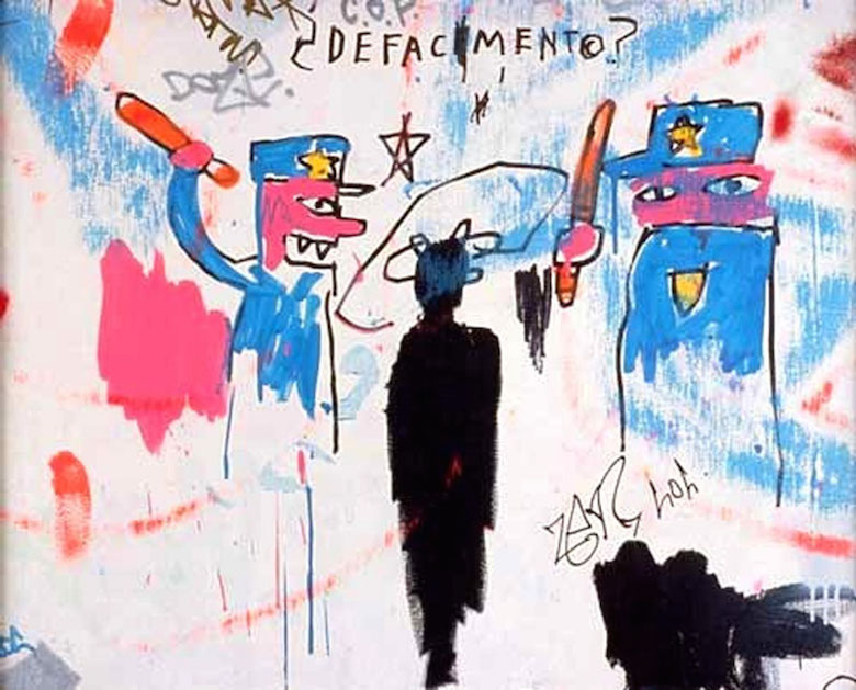 Defacement (The Death of Michael Stewart), 1983 Collection of Nina Clemente.