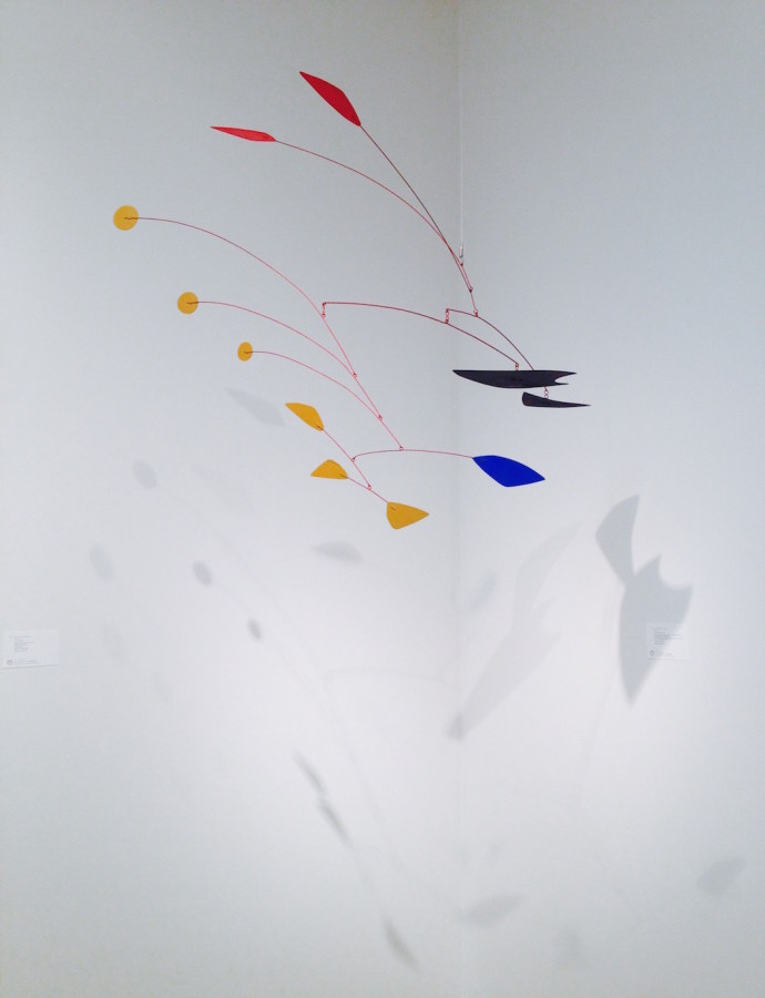 Alexander Calder Two red petals in the air Elusive Magzine