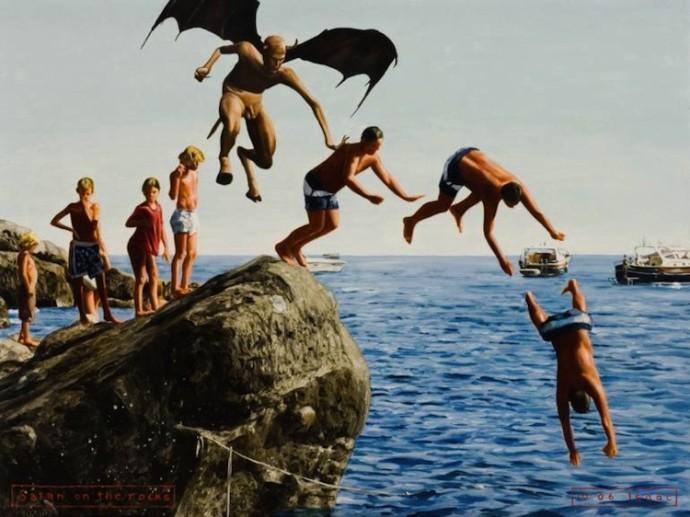 Jeffrey Isaac, Satan on the rocks Elusive Magazine