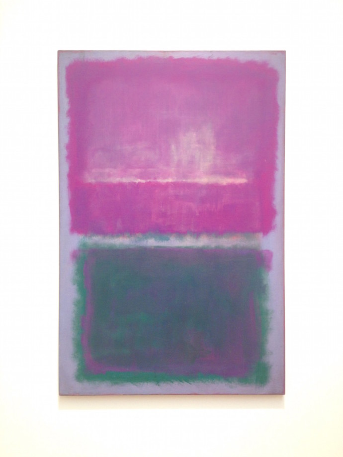 Mark Rothko Untitled - Lavender and Green Elusive Magzine
