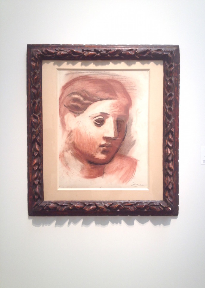 Pablo Picasso Tete de Femme Elusive Magzine
