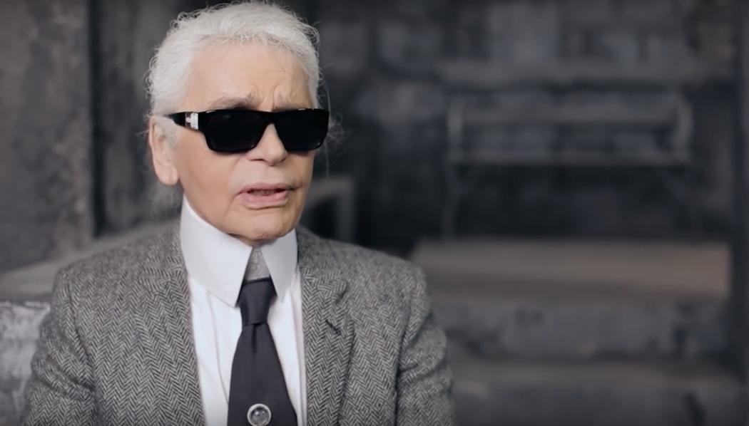Karl Lagerfeld's Interview