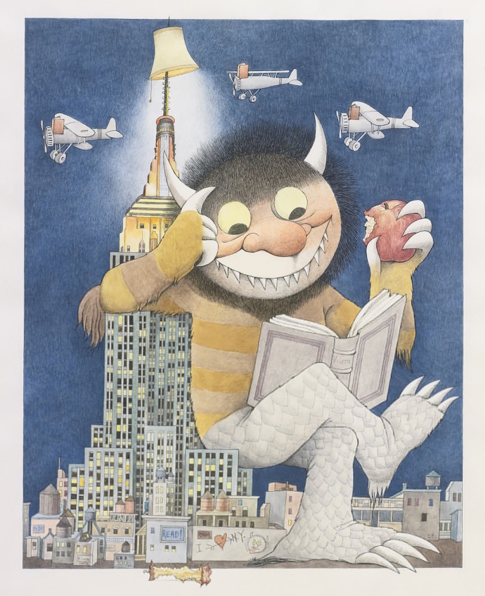 Maurice Sendak Where the Wild Things Are Dimitria Markou Elusive Magaizine New York is Book Country