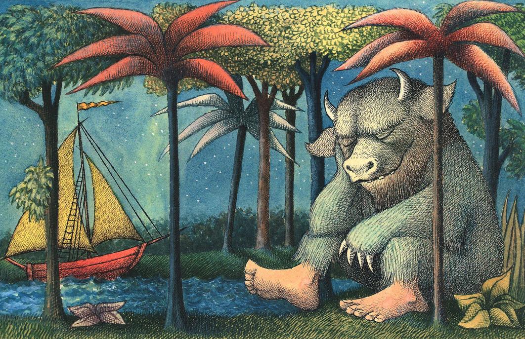 Maurice Sendak Where the Wild Things Are Dimitria Markou Elusive Magaizine