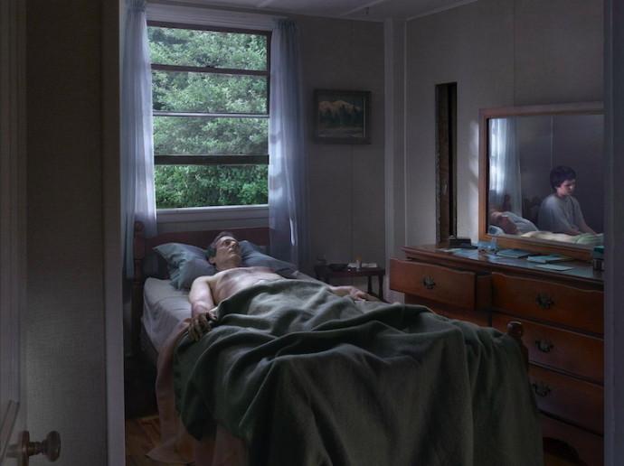 Gregory Crewdson Father Son Dimitria Markou Elusive Magazine Gagosian gallery