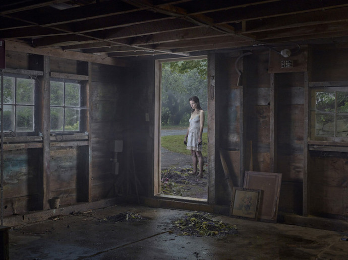Gregory crewdson The Shed Dimitria Markou Gagosian Gallery Elusive Magazine