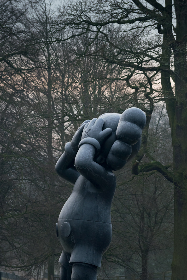 KAWS AT YORKSHIRE SCULPTURE PARK 4