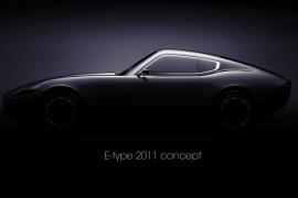 Jaguar E-Type Concept by Laszlo Varga [Video]