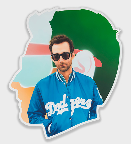 Alex Israel Self Portrait (Dodgers), 2014 2015 acrylic and bondo on fiberglass Collection of the artist Photo credit Joshua White Dimitria Markou Elusive Magazine