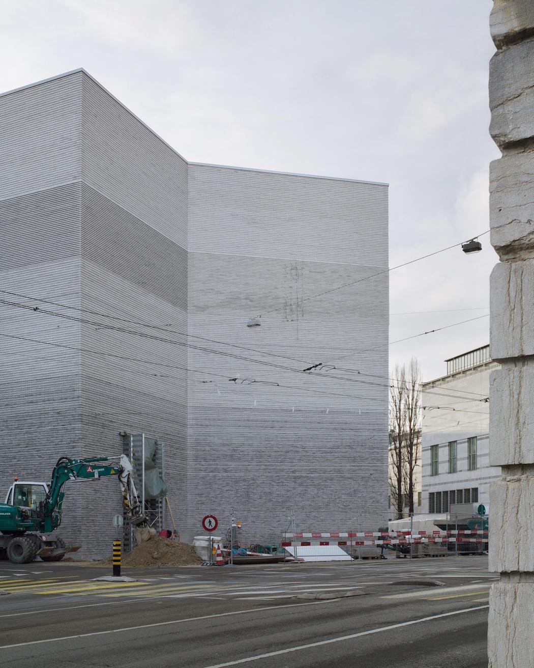 Kunstmuseum Basel | Neubau; Kunstmuseum Basel | nouveau bâtiment; Kunstmuseum Basel | new building; 2016/01