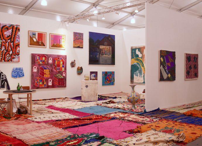 Frieze 2016 New York Dimitria Markou Elusive Magazine carpets