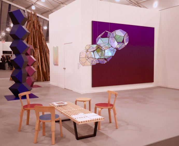 Frieze 2016 New York Dimitria Markou Elusive Magazine carpets installation view