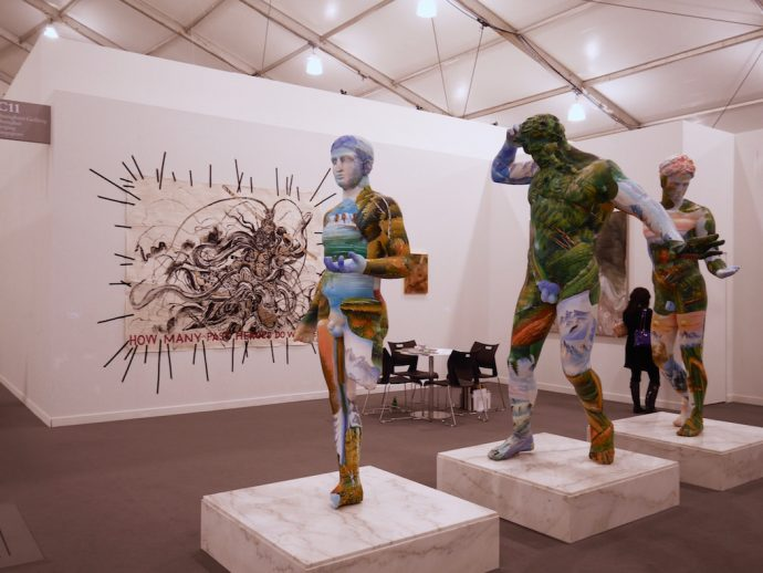 Frieze 2016 New York Dimitria Markou Elusive Magazine contemporary statues
