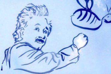 Dimitria-Elusive-Magazine-Albert-Einstein-illustration-art-Dimitria-Markou-1 (1)