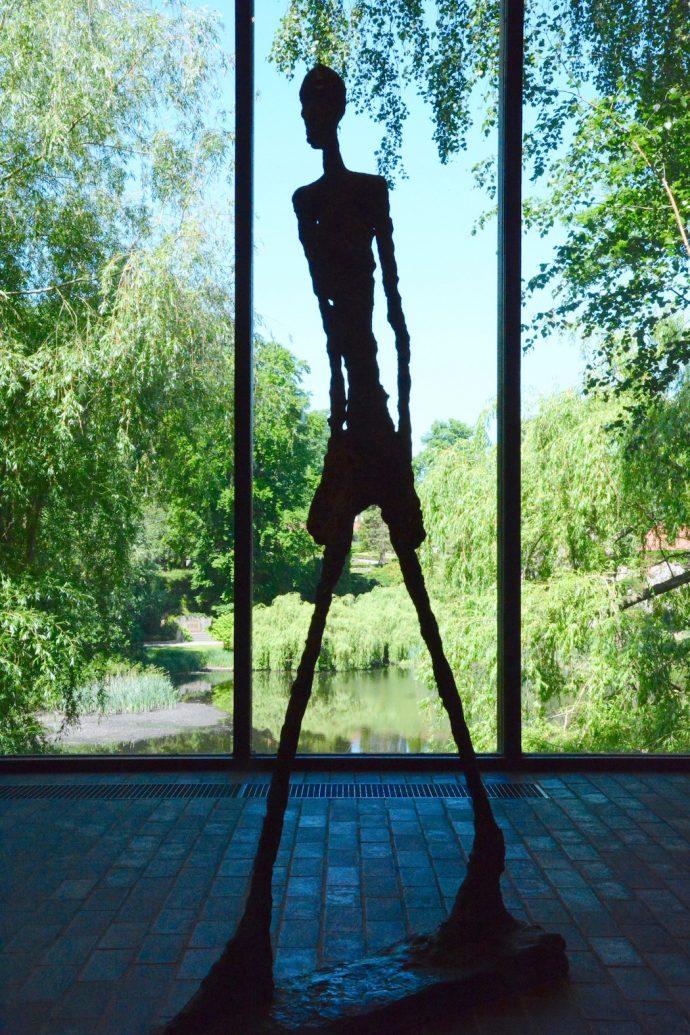 ELUSIVE Magazine Dimitria Markou LOUISIANA MUSEUM Copenhagen Giacometti