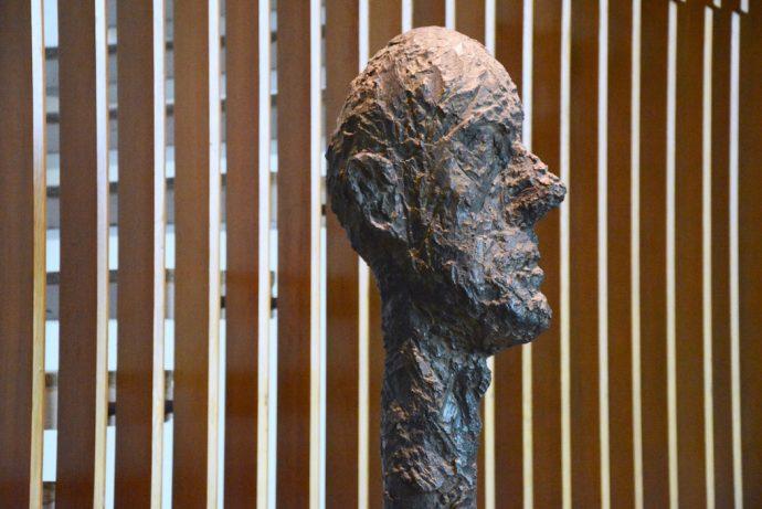 ELUSIVE Magazine Dimitria Markou LOUISIANA MUSEUM Copenhagen Giacometti close