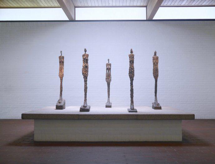 ELUSIVE Magazine Dimitria Markou LOUISIANA MUSEUM Copenhagen Giacometti sculptures figures art