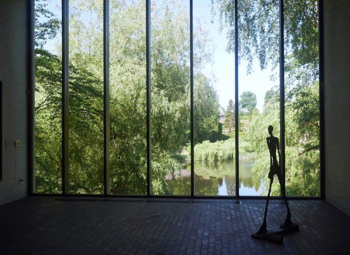 ELUSIVE Magazine Dimitria Markou LOUISIANA MUSEUM Copenhagen Giacometti view