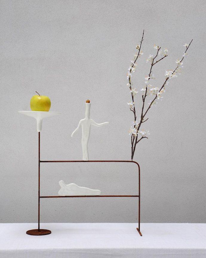 Andrea Branzi ELUSIVE Dimitria Markou art vase architecture design