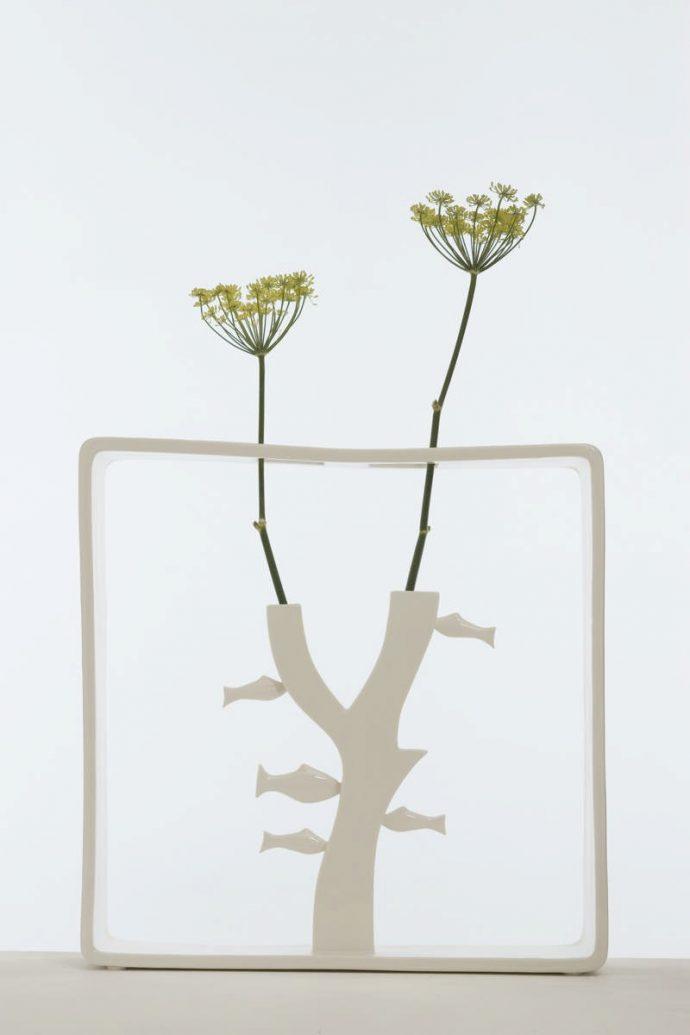 Andrea Branzi ELUSIVE Magazine Dimitria Markou art vase architecture design flowers