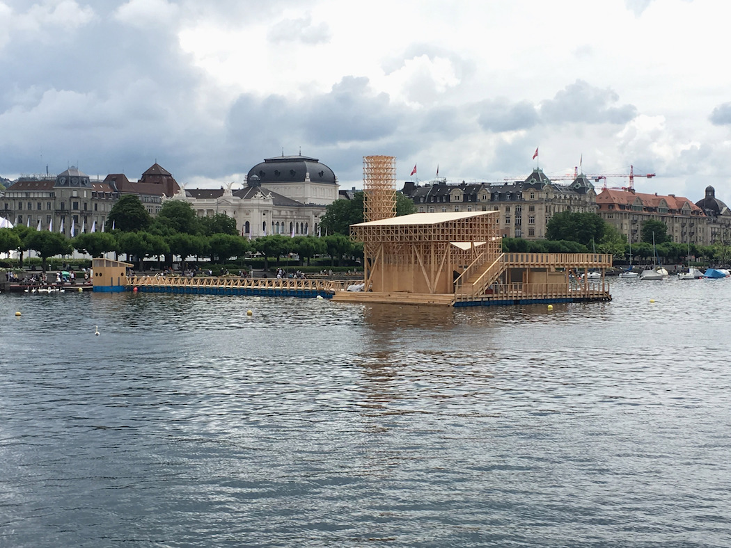 Pavillon of Reflections : Manifesta 11 Zurich 1