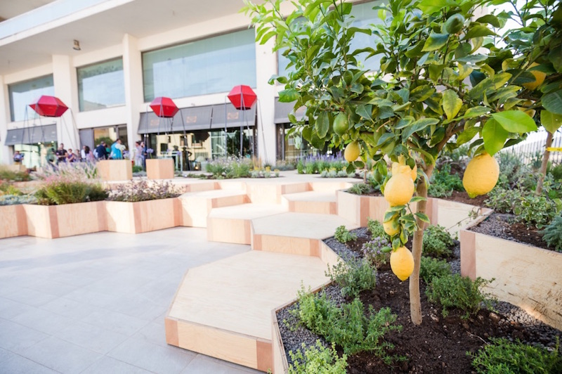 Zighizaghi multi-sensorial urban garden 3