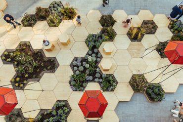 Zighizaghi multi-sensorial urban garden