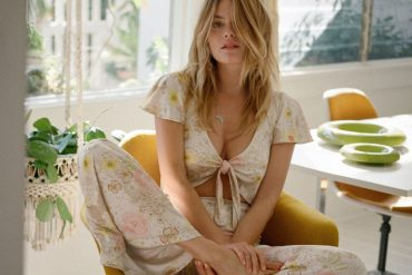 Camille Rowe by Henrik Purienne for Stoned Immaculate