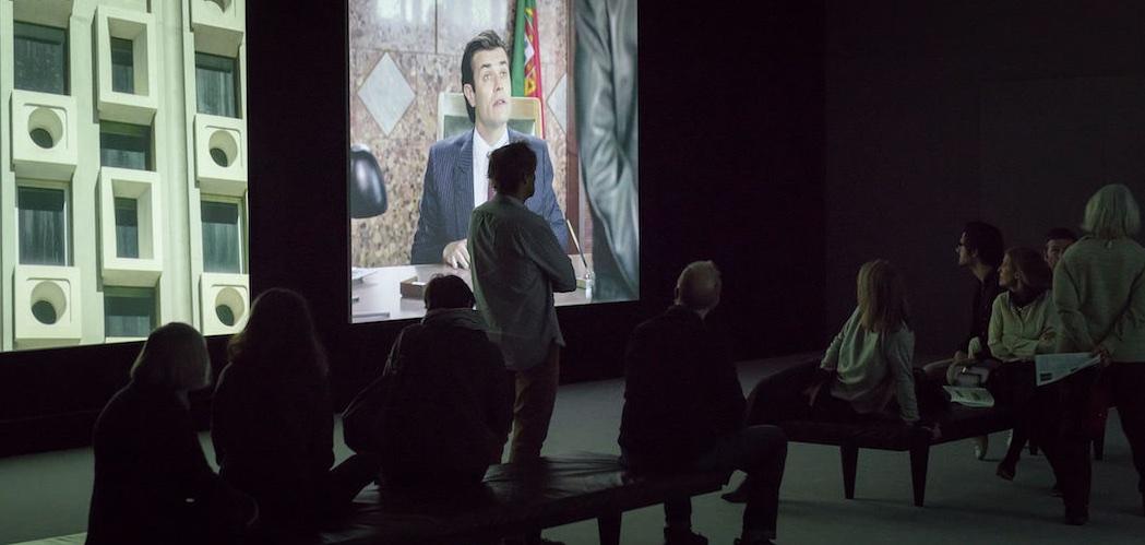 Ausstellungsansicht Cinéma mon amour. Kino in der Kunst (22.1. – 17.4.2017) Aargauer Kunsthaus, Aarau Foto- René Rötheli, Baden (1)