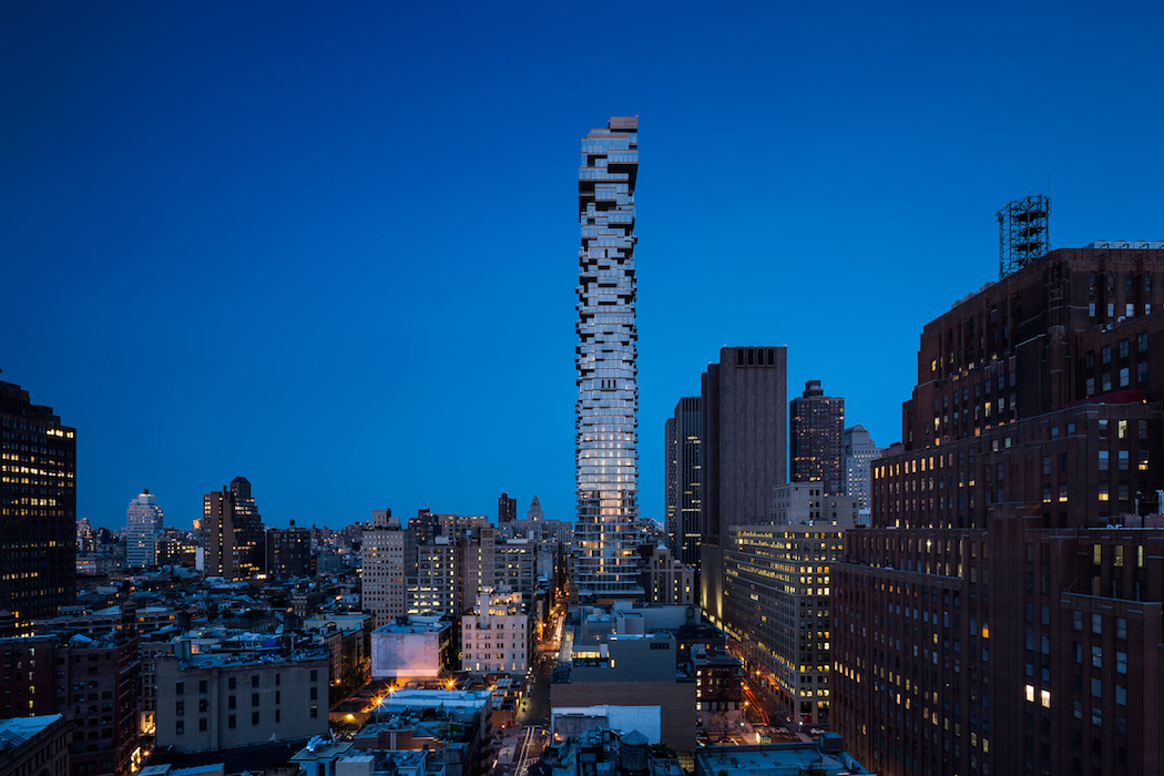 Herzog & de Meuron 56 Leonard Tower in New York City 7